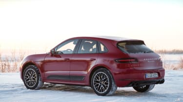 Porsche Macan Performance Package - rear quarter