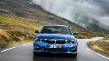 BMW 3 Series - blue full front
