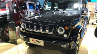 Chinese copycat cars - BAIC BJ80
