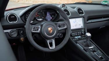 Porsche 718 Boxster T - cabin