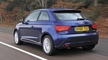 Audi A1 rear track