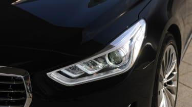 Genesis G90 first drive - headlight