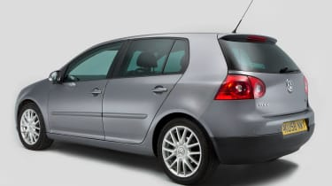 Volkswagen Golf Mk5 (used) - rear