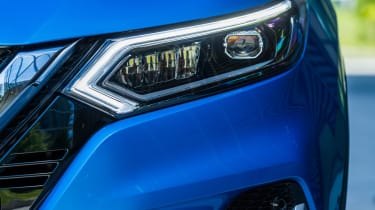New Nissan Qashqai 2017  headlight