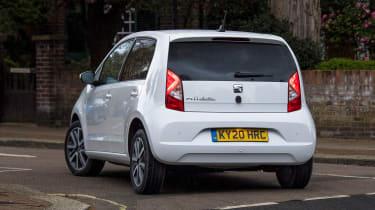 SEAT Mii electric - long termer final report rear cornering