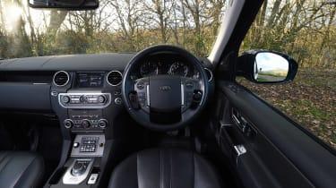 Land Rover Discovery Mk4 - dash