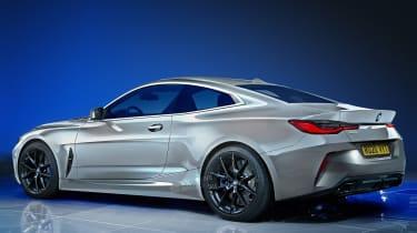 BMW 4 Series - rear (watermarked)