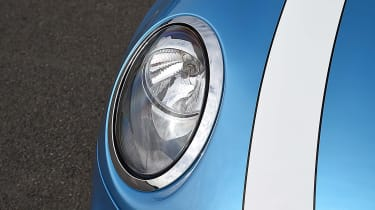 Mini Cooper headlight