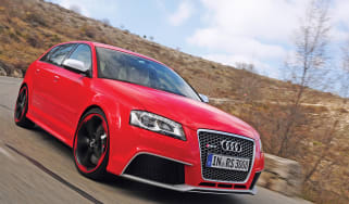 Audi RS3 front