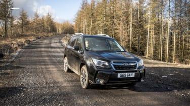 Subaru Forester XT - front panning