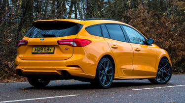 Ford Focus ST Estate: long-term test review  - first report - rear 3/4 static