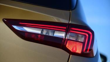 Vauxhall Grandland X - taillight