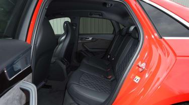 Audi S4 - rear seats