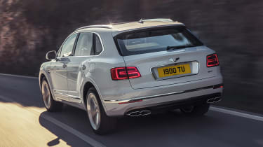 Bentley Bentayga PHEV - rear