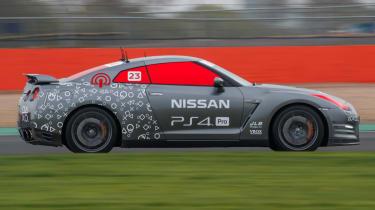 Remote control Nissan GTR/C - side profile