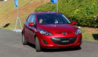 Mazda 2 EV 2013 action