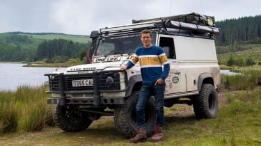 Green Laning  - Land Rover Defender