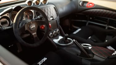 Nissan Project Clubsport 23 dash