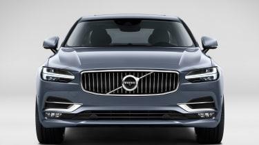 Volvo S90 - head on