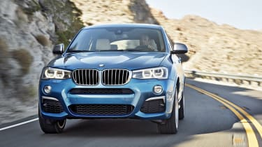 The X4 M40i will be a souped-up version of the standard X4, but it won't be a full-fat M car.
