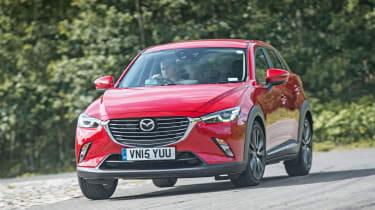 Mazda CX-3 - front cornering