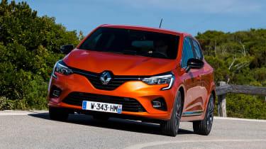 Renault Clio - front cornering