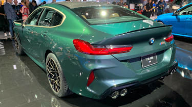 BMW M8 Gran Coupe - Los Angeles side/rear
