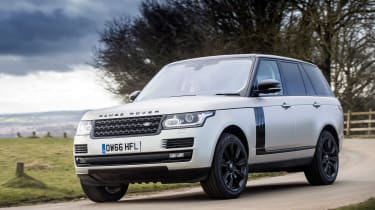 Range Rover Autobiography - front tracking