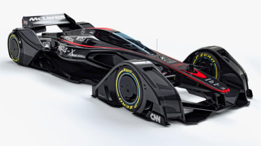 McLaren MP4-X - front three quarter