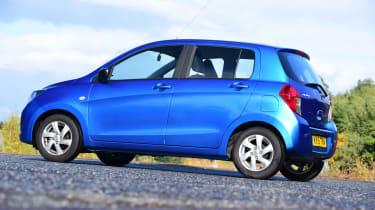 Suzuki Celerio rear quarter