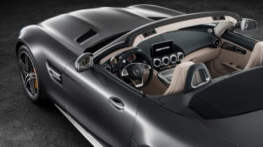 Mercedes-AMG GT C Roadster - roof down