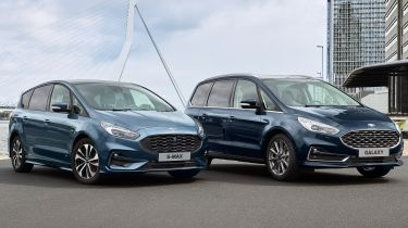 Ford Galaxy and S-Max updated