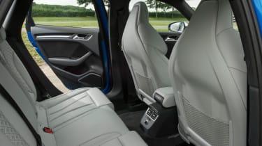 Audi RS 3 - back seats