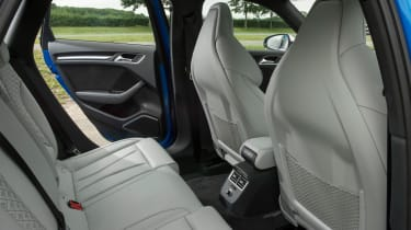 Audi RS 3 - back seats