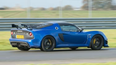 Lotus Exige Sport 380 - rear tracking