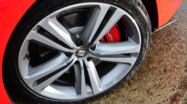 SEAT Leon Cupra long-termer - wheel