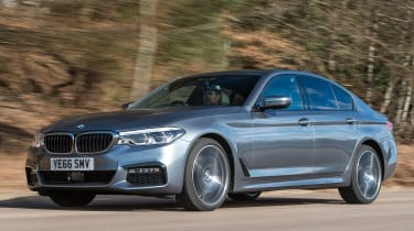BMW 5 Series 2017 - 540i front tracking