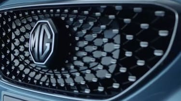 MG eZS - grille