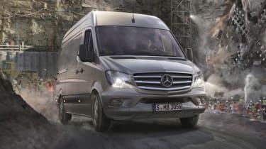 Mercedes Premium Sprinter - front