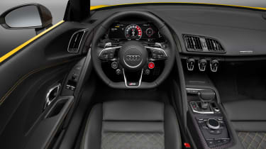 Audi R8 Spyder 2016 official - interior