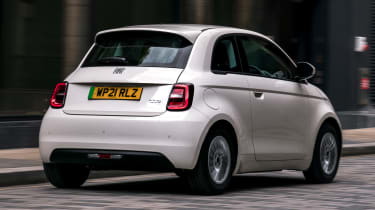 Fiat 500 Action - rear action