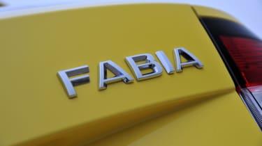 Skoda Fabia Estate badge