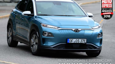 Hyundai Kona Electric - Affordable Electric Car of the Year 2018