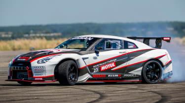 Nissan GT-R 1,390bhp drift car - drift 3