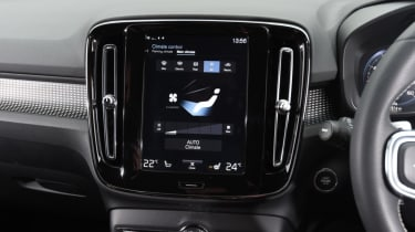 Volvo XC40 centre screen