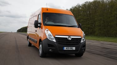 The Movano is offered in front and rear wheel drive.