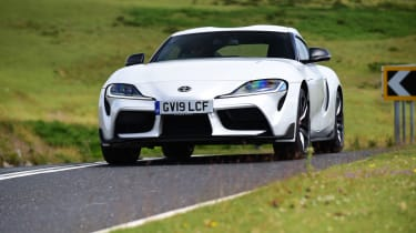 Toyota Supra - driving