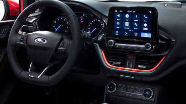 New 2017 Ford Fiesta ST-Line - interior