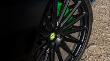 Lister Thunder black alloy wheel
