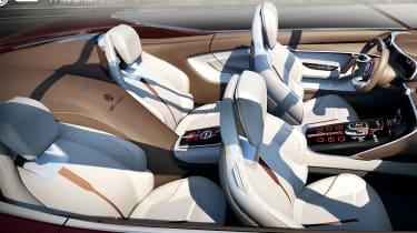 MG E-Motion concept cabin